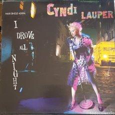 Discos de vinilo: MAXI / CYNDI LAUPER - I DROVE ALL NIGHT - 1989. Lote 261212735