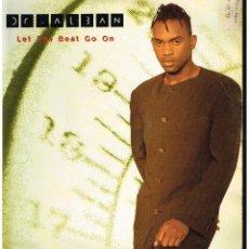 Discos de vinilo: DR. ALBAN - LET THE BEAT GO ON - MAXI SINGLE 1994 - ED. HOLANDA. Lote 288528833