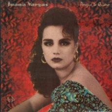 Discos de vinilo: JUANA VARGAS - PORQUE TE QUIERO / LP SENADOR 1990 / MUY BUEN ESTADO RF-9532. Lote 261224690