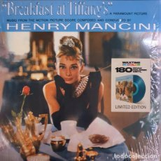 Discos de vinilo: HENRY MANCINI – BREAKFAST AT TIFFANY'S (MUSIC FROM THE MOTION PICTURE SCORE) -LP-. Lote 261228890