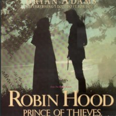 Discos de vinilo: BRYAN ADAMS - ROBIN HOOD - FROM THE MOTION PICURE / MAXI SINGLE DE 1991 / BUEN ESTADO RF-9552. Lote 261230250