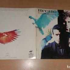 Discos de vinilo: LP MECANO DESCANSO DOMINICAL ARIOLA AÑO 1988 PORTADA TRIPLE. Lote 261231310