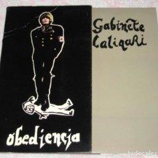 Discos de vinilo: GABINETE CALIGARI - OBEDIENCIA - 3 CIPRESES 1982 - GATEFOLD - EX-. Lote 261234755