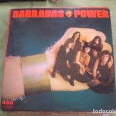 Discos de vinilo: BARRABAS POWER. Lote 261240280