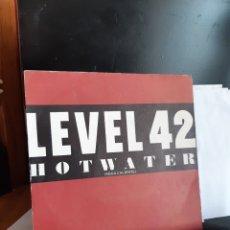 Discos de vinilo: LEVEL 42 -HOT WATER. Lote 261242830