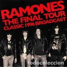 Discos de vinilo: RAMONES – THE FINAL TOUR - CLASSIC 1996 BROADCAST -2 LP-. Lote 261242980