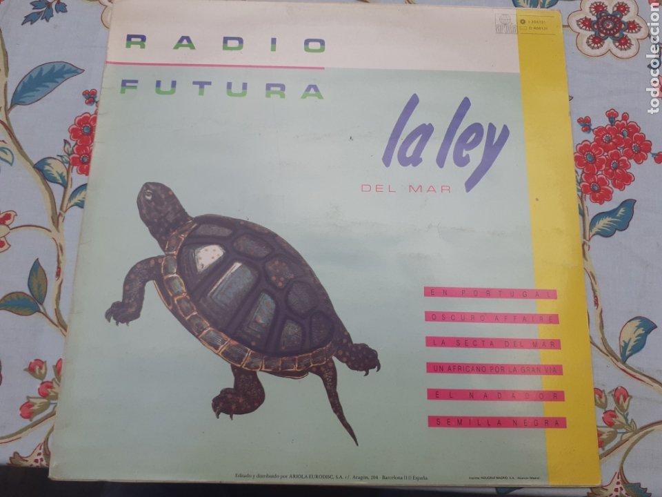 LP DE RADIO FUTURA LA LEY DEL MAR (Música - Discos - LP Vinilo - Grupos Españoles de los 90 a la actualidad)