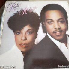 Discos de vinilo: PEABO BRYSON & ROBERTA FLACK - BORN TO LOVE (LP, ALBUM)CAPITOL R. EMI 064 7122841.COMO NUEVO.MINT/NM. Lote 261247495