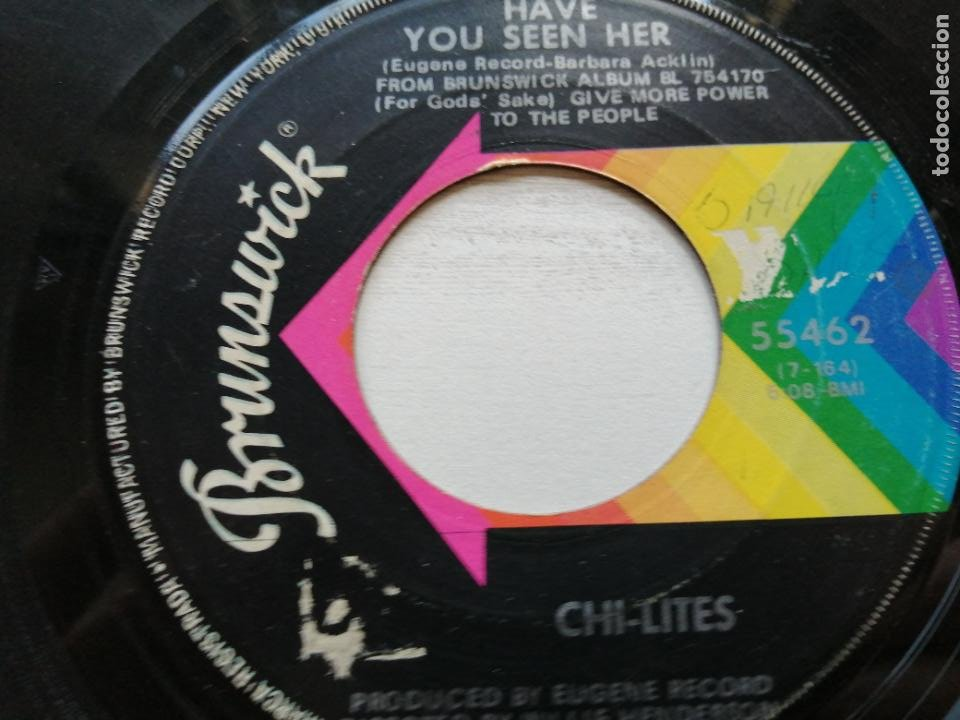 CHI-LITES* – HAVE YOU SEEN HER / YES I'M READY (IF I DON'T GET TO GO) SINGLE USA (Música - Discos - Singles Vinilo - Funk, Soul y Black Music)