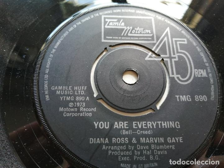 DIANA ROSS & MARVIN GAYE – YOU ARE EVERYTHING SINGLE UK 1974 EX (Música - Discos - Singles Vinilo - Funk, Soul y Black Music)