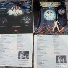 Discos de vinilo: SATURDAY NIGHT FEVER (THE ORIGINAL MOVIE SOUND TRACK) 2 LP - RSO - 1977. Lote 261249490