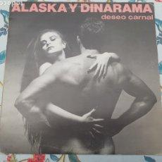 Discos de vinil: LP ALASKA Y DINARAMA DESEO CARNAL. Lote 261251030