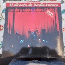 Discos de vinil: LP DOBLE EL DIRECTO DE RADIO FUTURA ESCUELA DE CALOR. Lote 261252065