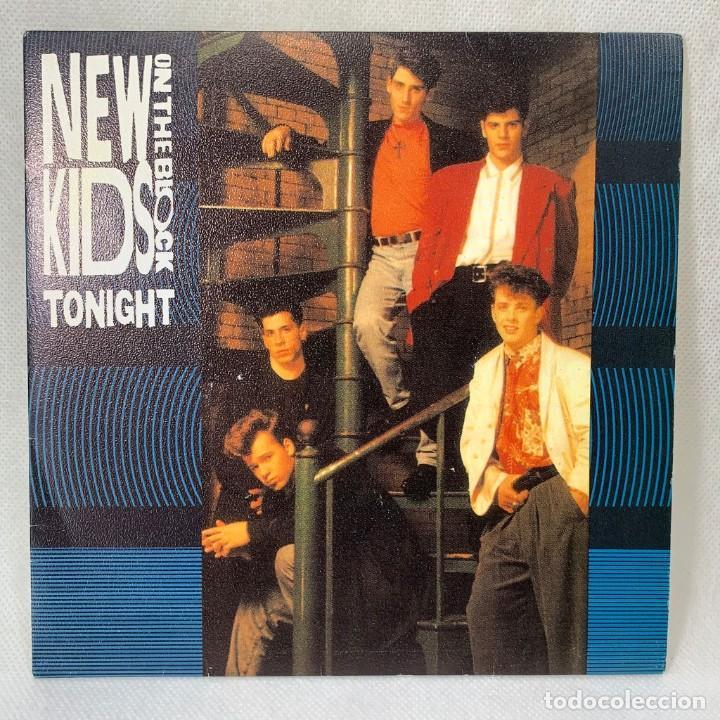 SINGLE THE NEW KIDS ON THE BLOCK - TONIGHT - ESPAÑA - AÑO 1990 (Música - Discos - Singles Vinilo - Pop - Rock Internacional de los 90 a la actualidad)