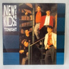 Discos de vinilo: SINGLE THE NEW KIDS ON THE BLOCK - TONIGHT - ESPAÑA - AÑO 1990. Lote 261254420