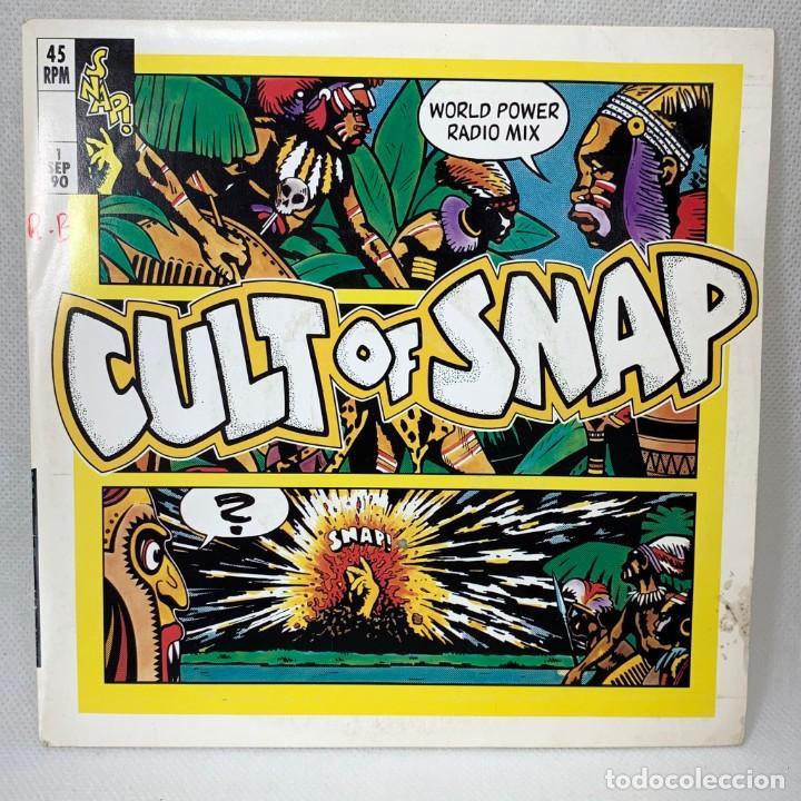 SINGLE SNAP! - CULT OF SNAP - ESPAÑA - AÑO 1990 (Música - Discos - Singles Vinilo - Pop - Rock Internacional de los 90 a la actualidad)