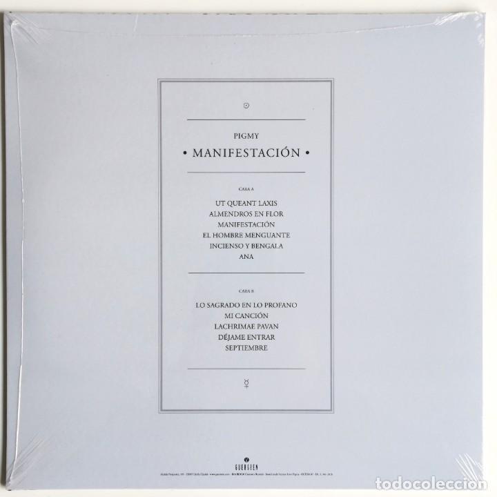 Discos de vinilo: Pigmy - Manifestación (GUESS167, LP, 2020) precintado!!! - Foto 2 - 261255205