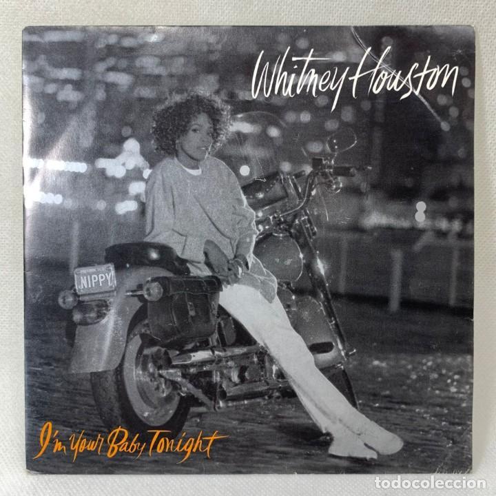 SINGLE WHITNEY HOUSTON - I'M YOUR BABY TONIGHT - ESPAÑA - AÑO 1990 (Música - Discos - Singles Vinilo - Funk, Soul y Black Music)