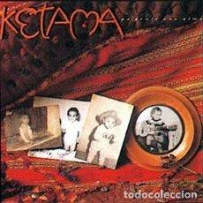 Discos de vinilo: KETAMA * LP VINILO * PA GENTE CON ALMA * FUNDA CON LETRAS * 1991. Lote 261257300