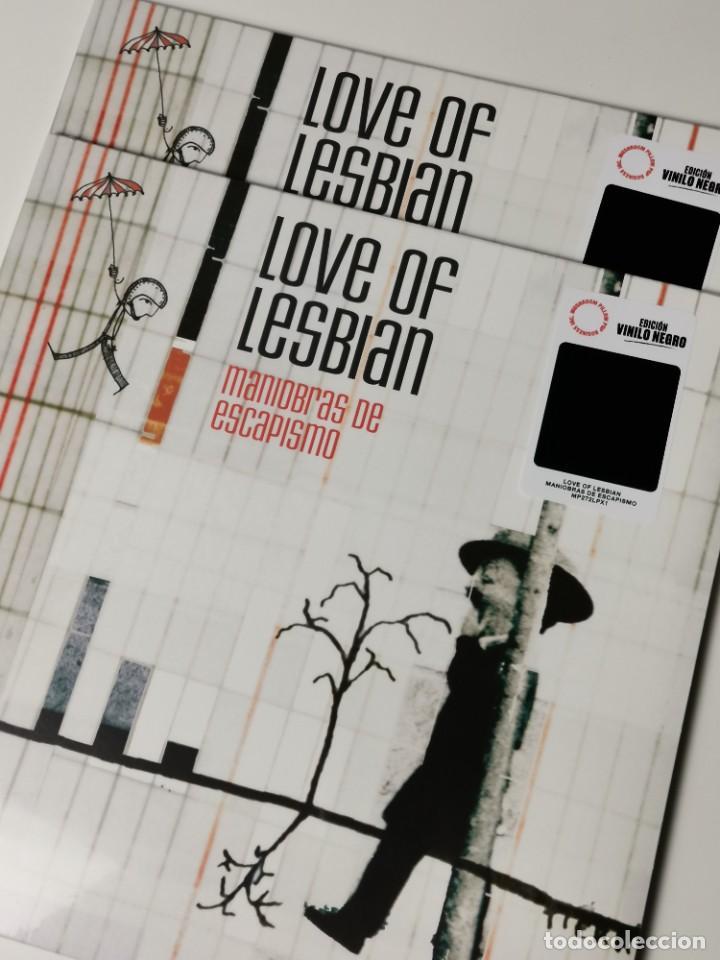 LOVE OF LESBIAN-MANIOBRAS DE ESCAPISMO (LP, VINILO NEGRO, 2021) PRECINTADO! (Música - Discos - LP Vinilo - Grupos Españoles de los 90 a la actualidad)