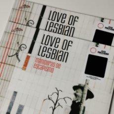 Discos de vinilo: LOVE OF LESBIAN-MANIOBRAS DE ESCAPISMO (LP, VINILO NEGRO, 2021) PRECINTADO!. Lote 261257740