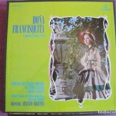 Discos de vinilo: BOX SET - DOÑA FRANCISQUITA (CONTIENE 2 LP'S + INFORMACION, SPAIN, COLUMBIA 1962, VER FOTOS). Lote 261263415