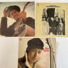 Discos de vinilo: BOB DYLAN 1969/70/72, 3 VINILOS LP, BUEN ESTADO PROBADOS, VER FOTOS (4,31 ENVÍO CERTIFICADO). Lote 261263800