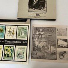 Discos de vinilo: ANTOLOGÍA DEL TANGO RIOPLATENSE (1980), 3 VINILOS, LIBRO...EN PERFECTO ESTADO, VER FOTOS. Lote 261266680