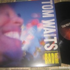 Discos de vinilo: TOM WAITS – BAD AS ME VINYL, LP, ALBUM, 180 G LIBRETO ANTI-2011 OG EUROPE EXCELENTE CONDICION. Lote 261267635