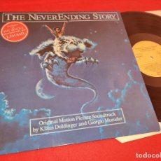 Discos de vinilo: NEVER ENDING STORY LA HISTORIA INTERMINABLE BSO OST MORODER+DOLDINGER LP 1984 EMI SPAIN. Lote 261268800