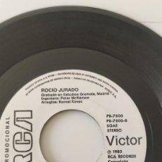 Discos de vinilo: ROCIO JURADO SINGLE PROMOCIONAL DE 1983. Lote 261270280