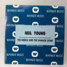 Dischi in vinile: SINGLE NEIL YOUNG - THE NEEDLE AND THE DAMAGE DONE - ESPAÑA - AÑO 1993. Lote 261271415