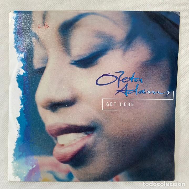 SINGLE OLETA ADAMS - GET HERE - UK - AÑO 1990 (Música - Discos - Singles Vinilo - Funk, Soul y Black Music)