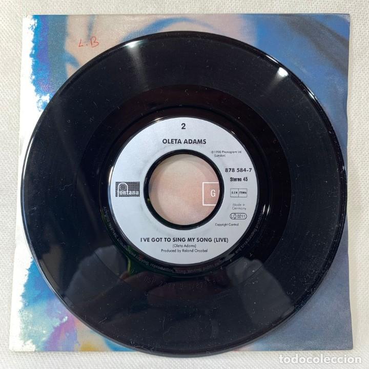 Discos de vinilo: SINGLE OLETA ADAMS - GET HERE - UK - AÑO 1990 - Foto 3 - 261271670