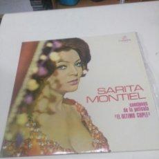 Discos de vinilo: SARA MONTIEL EL ÚLTIMO CUPLÉ. Lote 261278370