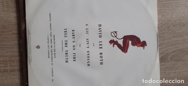Discos de vinilo: DAVID LEE ROTH A lil, ain,t enough 3 temas maxi - Foto 2 - 261278710