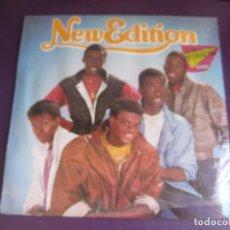 Discos de vinilo: NEW EDITION - LP MCA 1984 PRECINTADO - FUNK SOUL DISCO 80'S -. Lote 261279330