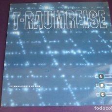 Discos de vinilo: LDC – T-RAUMREISE - MAXI SINGLE DANCE POOL 1992 - TRANCE ELECTRONICA - VINILO SIN USO. Lote 261280910