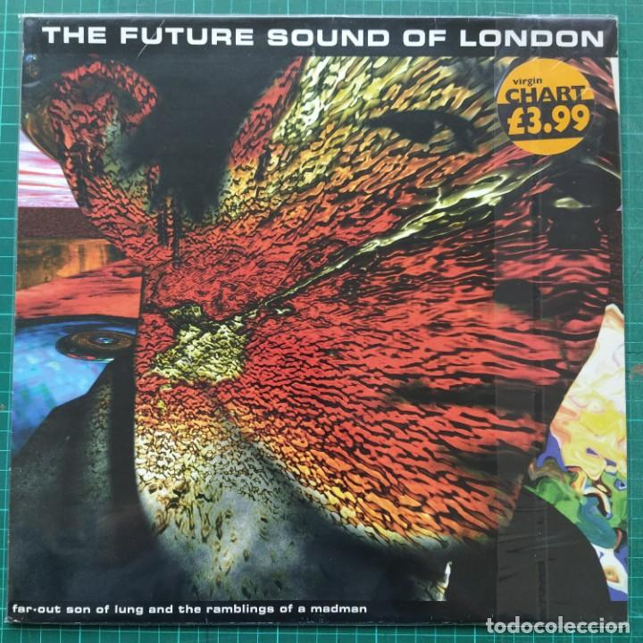 """THE FUTURE SOUND OF LONDON - FAR-OUT SON OF LUNG AND THE RAMBLINGS OF A MADMAN (12"""") (1995/UK) (Música - Discos de Vinilo - Maxi Singles - Electrónica, Avantgarde y Experimental)"""