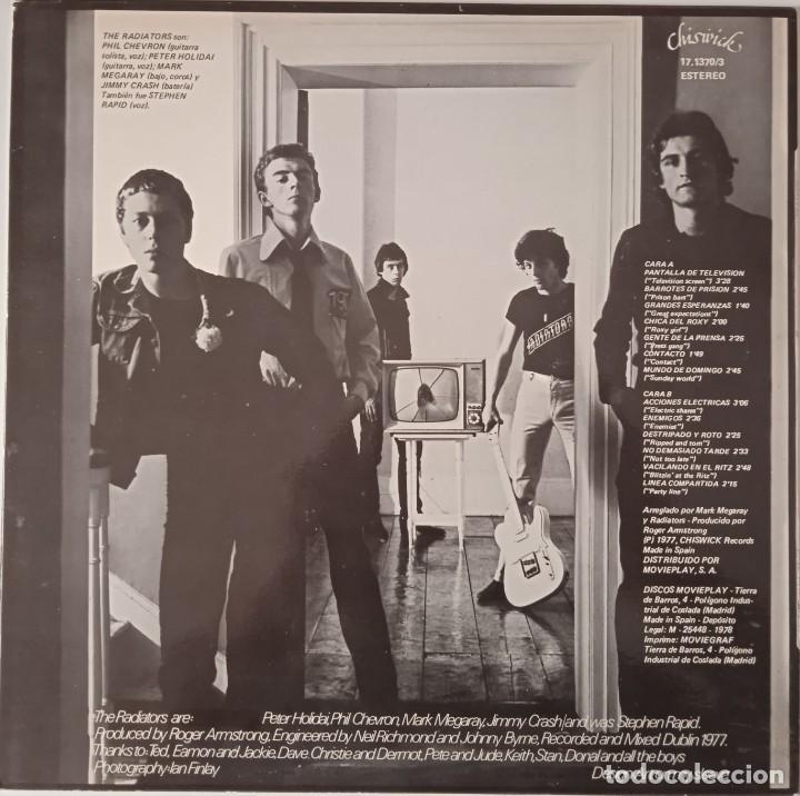 Discos de vinilo: The Radiators... TV Tube Heart. (Chiswick Records 1978 ) Spain. - Foto 2 - 261287620