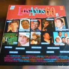 Discos de vinilo: LOS AÑOS 60 VOL. 1, 3 LP, VARIOS / JOHNNY HALLYDAY - SOUVENIRS, SOUVENIRS + 50 , AÑO 1990. Lote 261293985