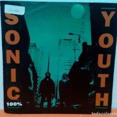"Discos de vinil: SONIC YOUTH - 100% + CREME BRULEE- SINGLE VINILO 7"". Lote 261296665"