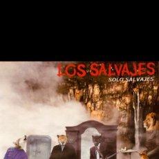 Discos de vinilo: LP LOS SALVAJES - SOLO SALVAJES. Lote 261308355