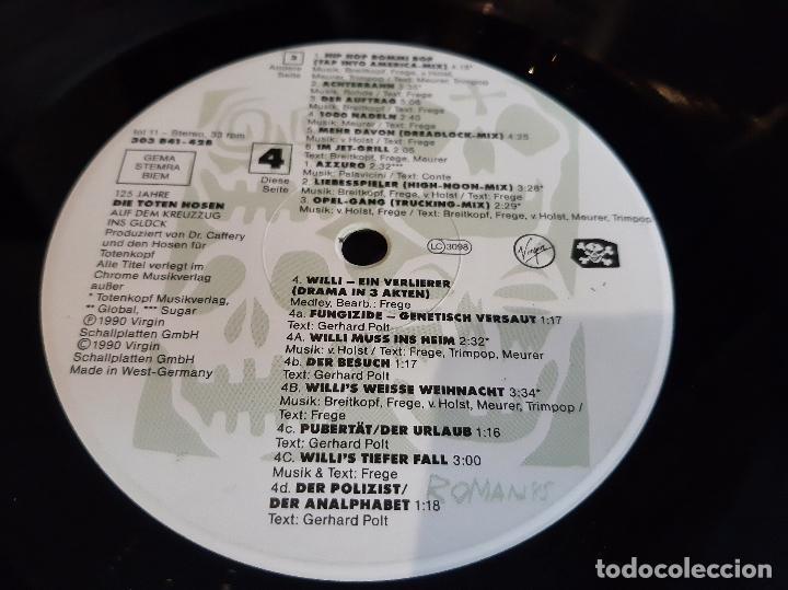 Discos de vinilo: DIE TOTEN HOSEN -125 JAHRE DIE TOTEN HOSEN AUF DEM KREUZZUG INS GLÜCK- (1990) 2 X LP DISCO VINILO - Foto 2 - 261309150