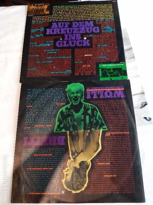 Discos de vinilo: DIE TOTEN HOSEN -125 JAHRE DIE TOTEN HOSEN AUF DEM KREUZZUG INS GLÜCK- (1990) 2 X LP DISCO VINILO - Foto 5 - 261309150
