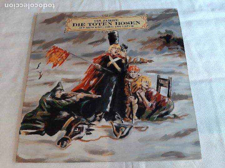 DIE TOTEN HOSEN -125 JAHRE DIE TOTEN HOSEN AUF DEM KREUZZUG INS GLÜCK- (1990) 2 X LP DISCO VINILO (Música - Discos - LP Vinilo - Punk - Hard Core)