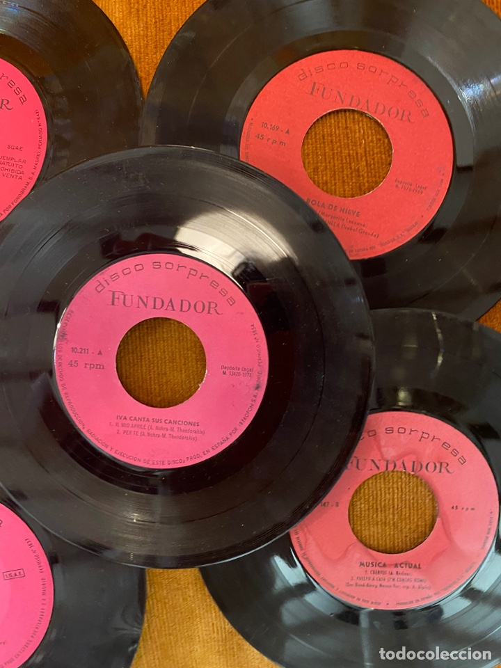 Discos de vinilo: Lote de discos años 70 - Foto 5 - 221285545
