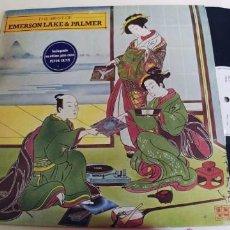 Discos de vinil: EMERSON LAKE & PALMER-LP THE BEST. Lote 261335765