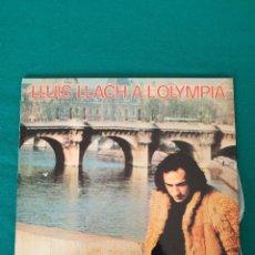 Discos de vinilo: LLUIS LLACH A L´OLYMPIA. Lote 261343005