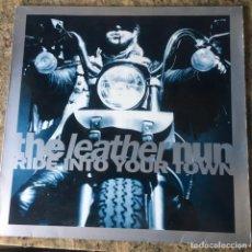 Discos de vinilo: THE LEATHER NUN - RIDE INTO YOUR TOWN . MAXI SINGLE . 1990 SUECIA. Lote 261343905